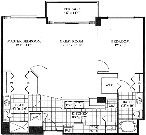 Turnberry on the Green Floor Plans