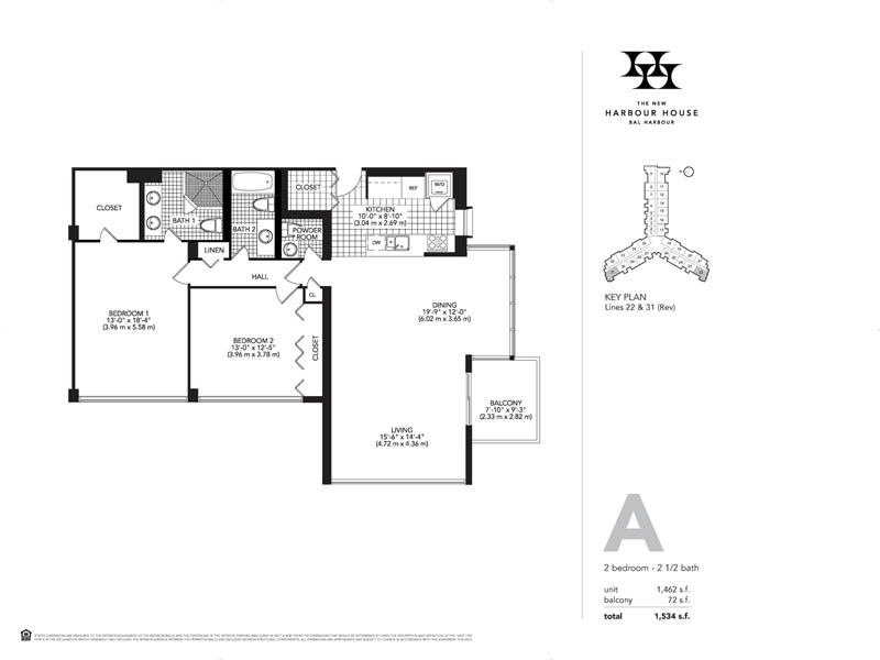 Harbour House Floor Plan A