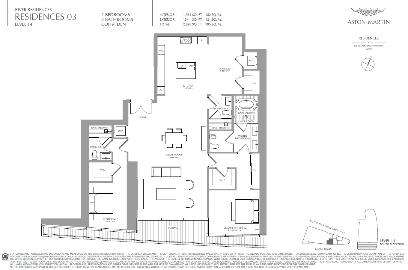 Aston Martin Residences Floor Plan 03