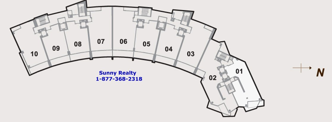 Paramount Bay Master Floor Plan