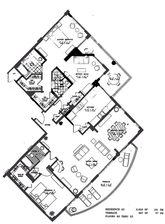 Ten Museum Park Floor Plan 2