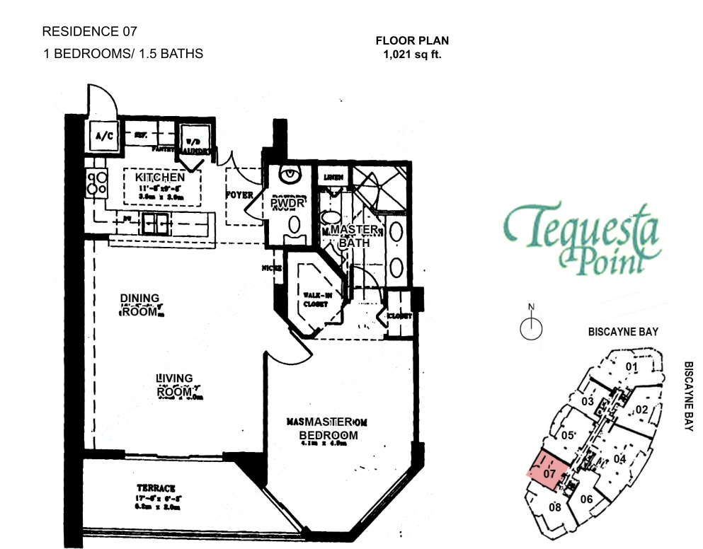 Ten Museum Park Floor Plan 3