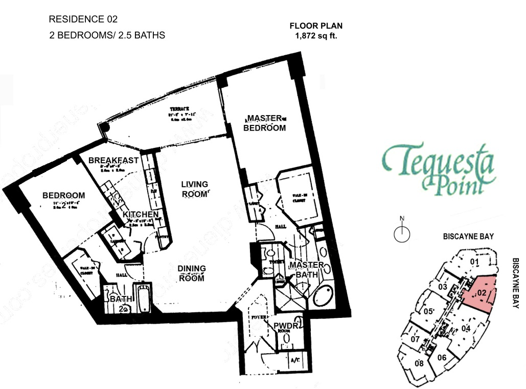 Ten Museum Park Floor Plan 4