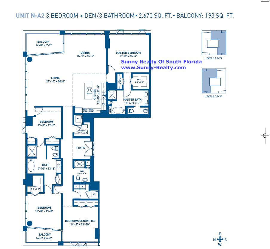 Carillon Floor Plan A2