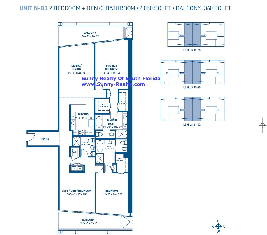 Carillon Floor Plan B3
