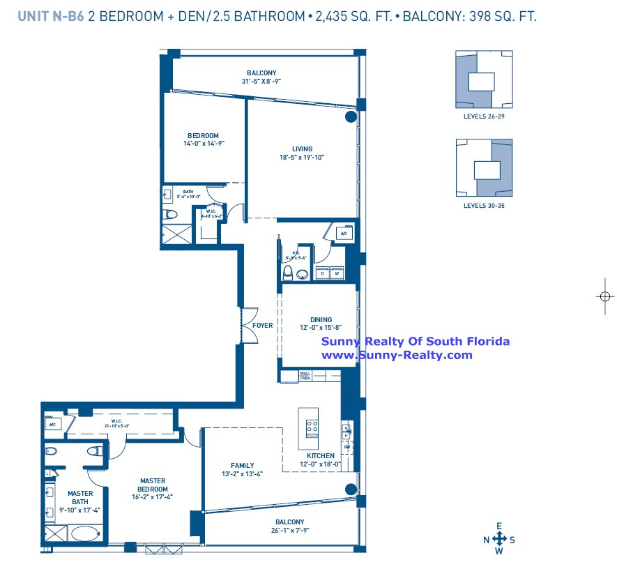 Carillon Floor Plan B6