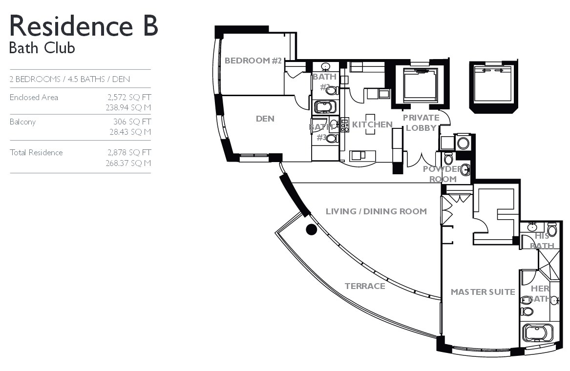 Bath club find your home 7 for sale and 4 for rent for Nightclub floor plans