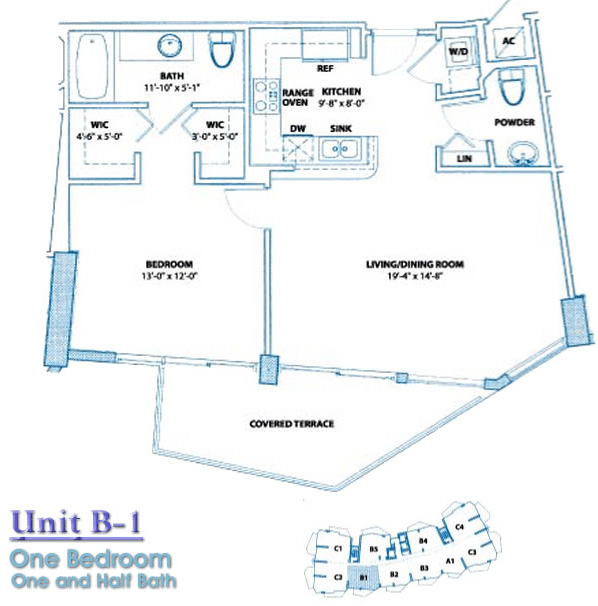 Bel Aire Floor Plan B1