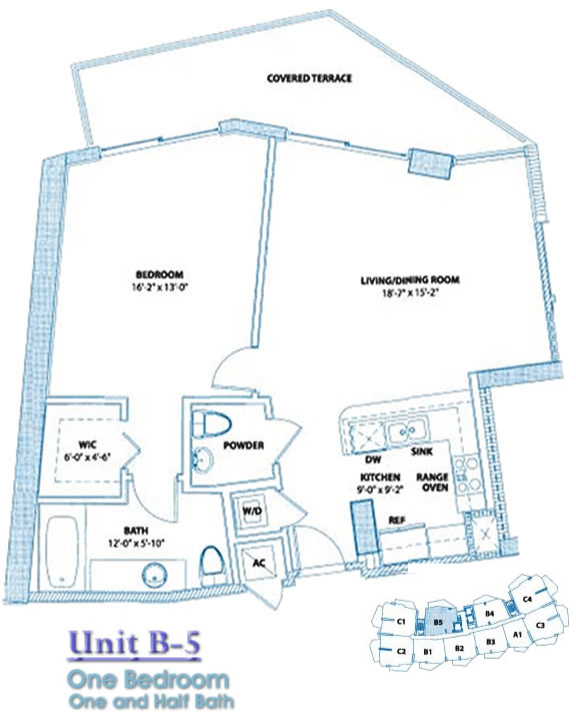 Bel Aire Floor Plan B5