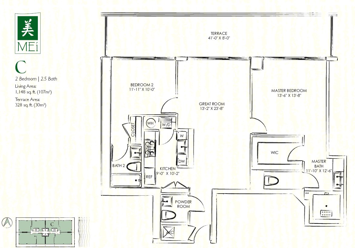 Mei Floor Plan Condo C