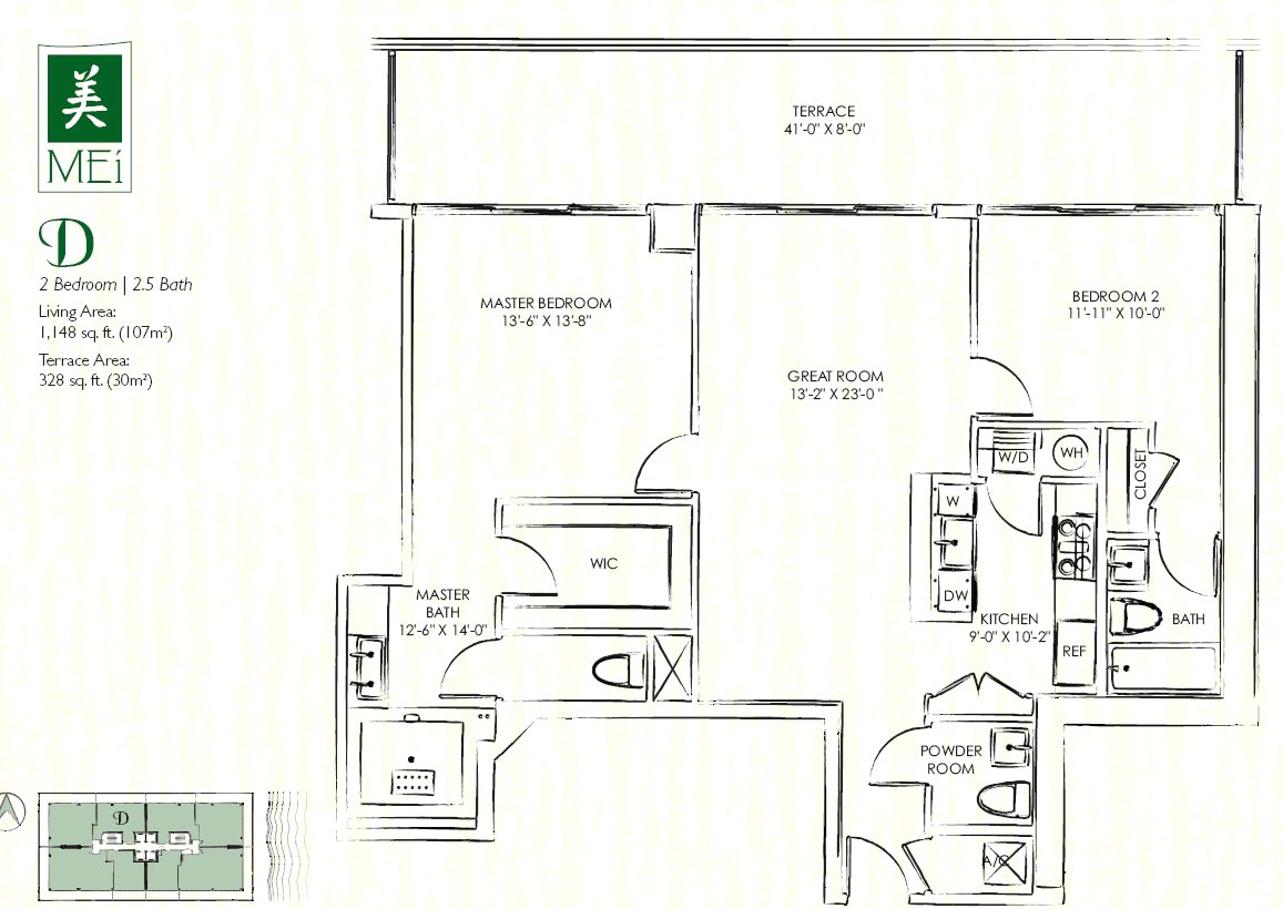 Mei Floor Plan Condo D
