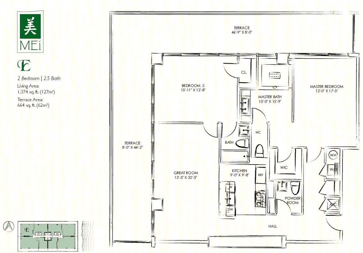 Mei Floor Plan Condo E