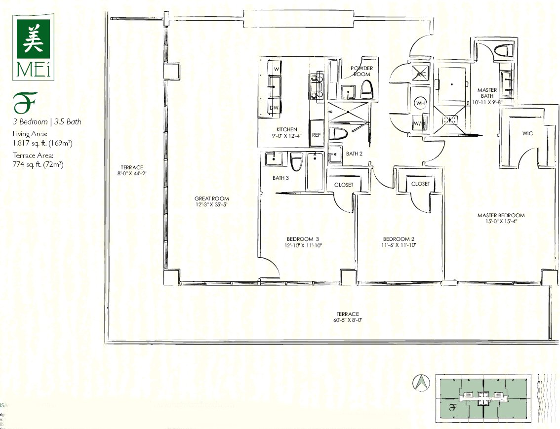 Mei Floor Plan Condo F