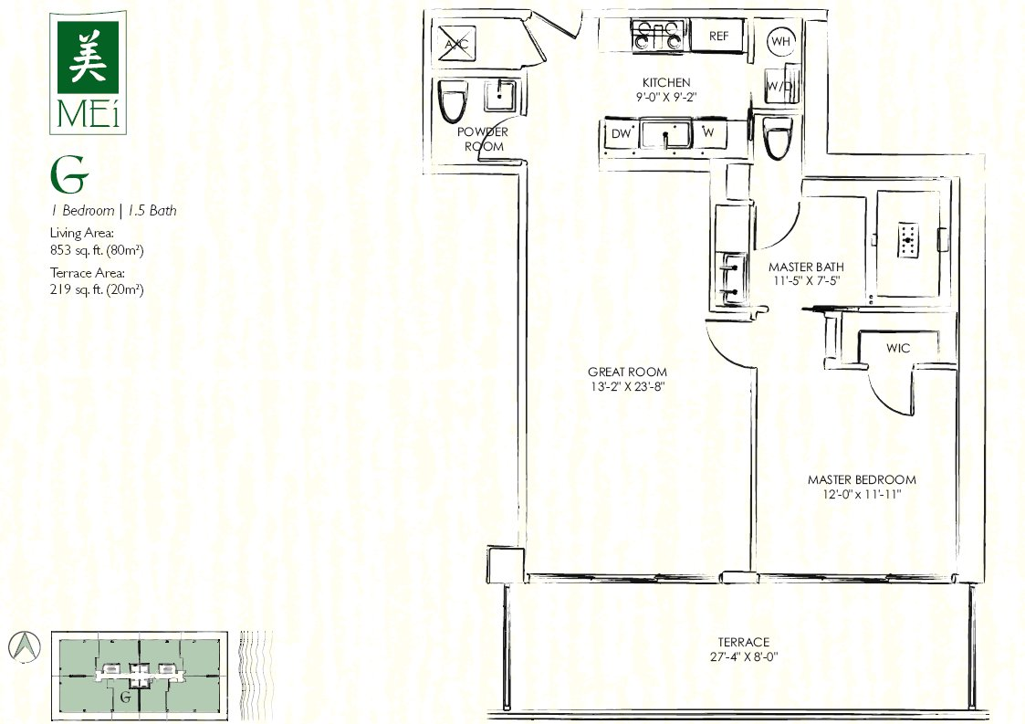 Mei Floor Plan Condo G