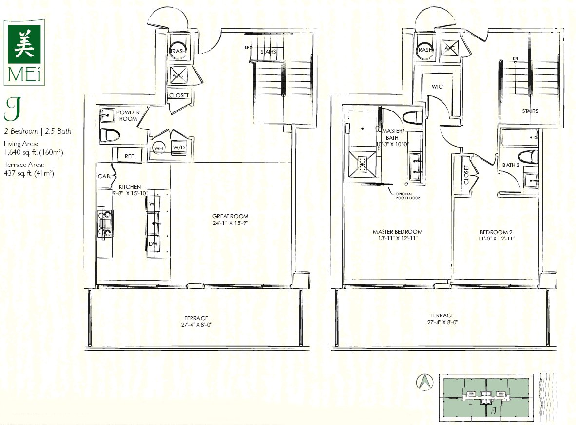 Mei find your home 25 for sale and 14 for rent condos for Miami house plans