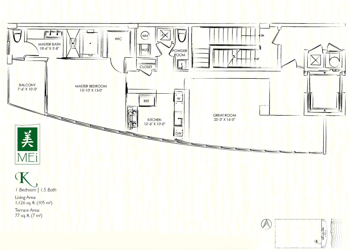 Mei Floor Plan Condo K