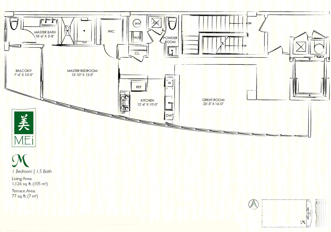 Mei Floor Plan Condo M