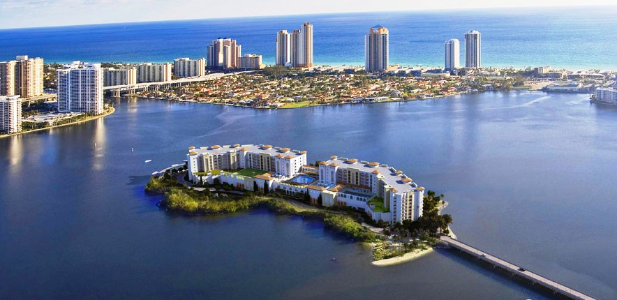Island Estates Aventura homes