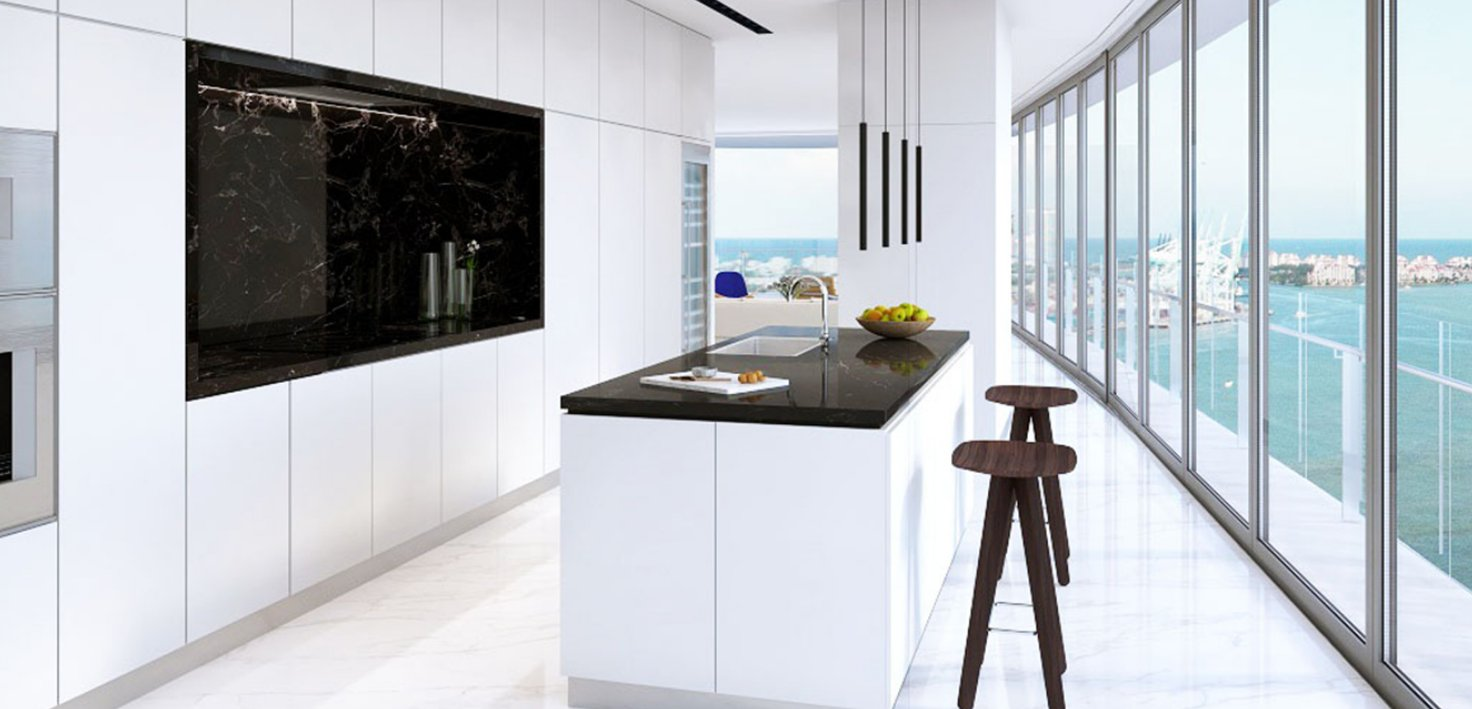 Aston Martin Residences kitchen