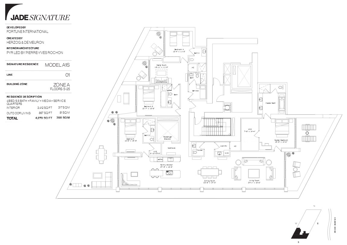 Jade Signature Floor Plan Line 1