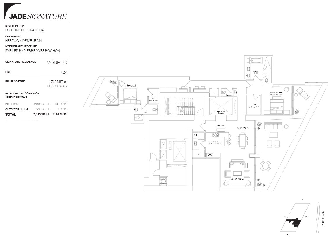 Jade Signature Floor Plan Line 2