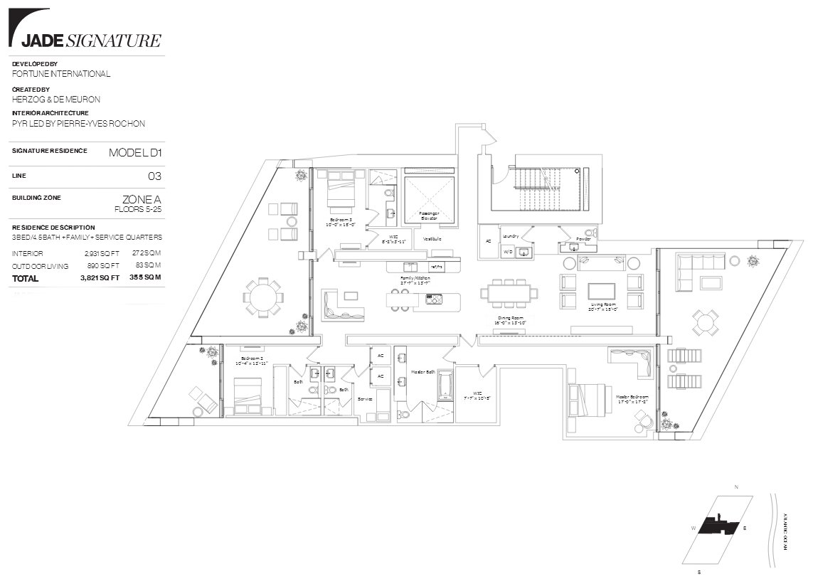 Jade Signature Floor Plan Line 3