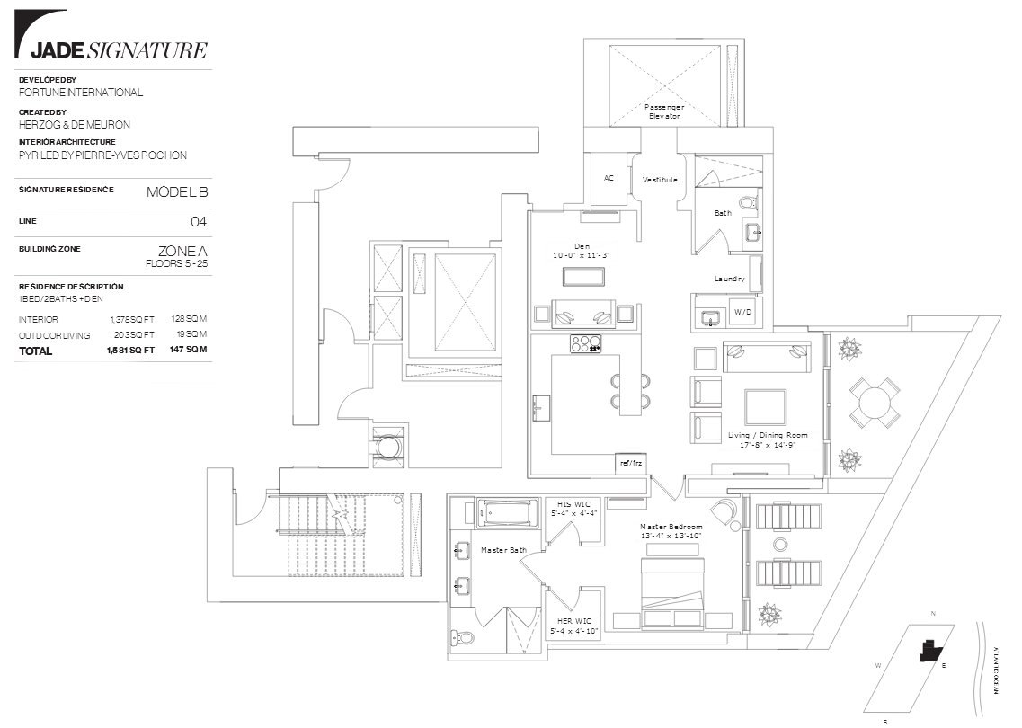 Jade Signature Floor Plan Line 4