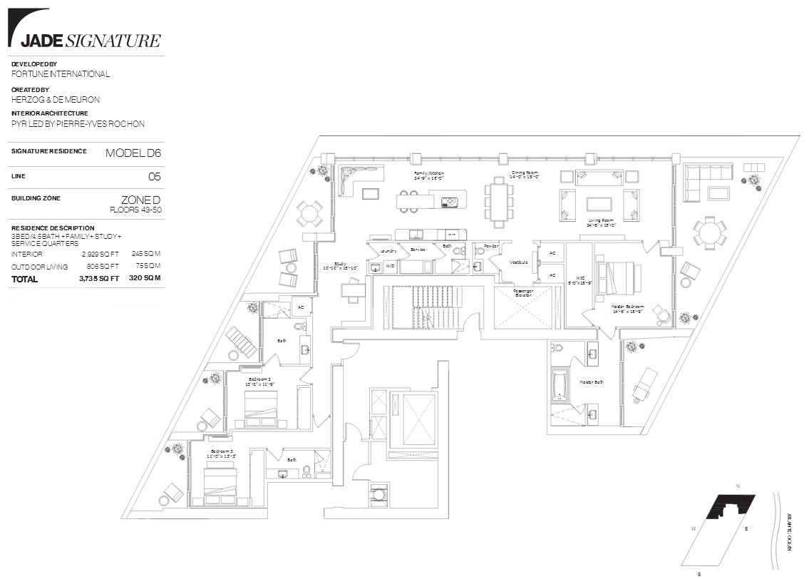 Jade Signature Floor Plan Line 5