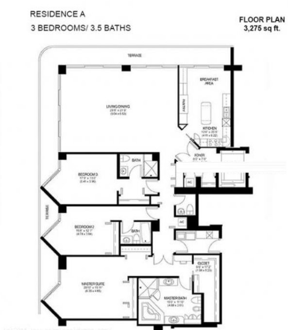 Solimar Floor Plan A
