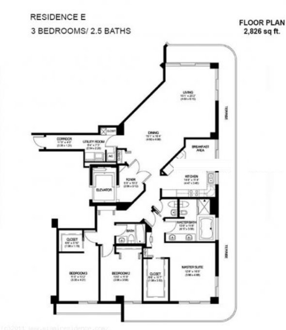 Solimar Floor Plan E