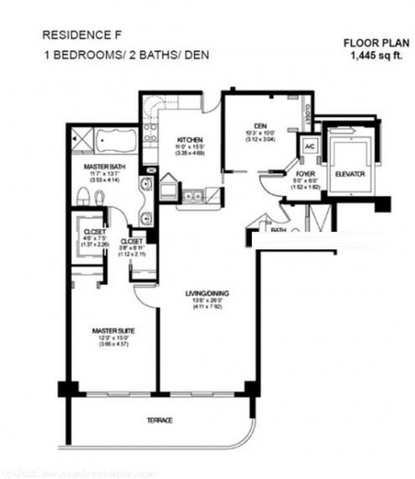 Solimar Floor Plan F