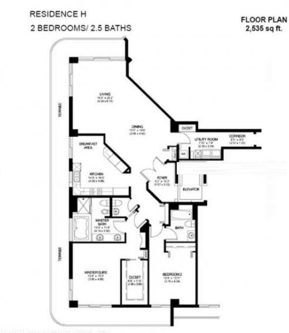 Solimar Floor Plan H