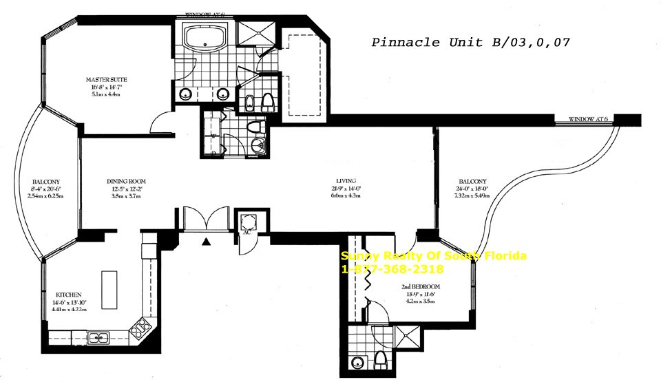 Pinnacle floor plan for line 03 and 05 and 07