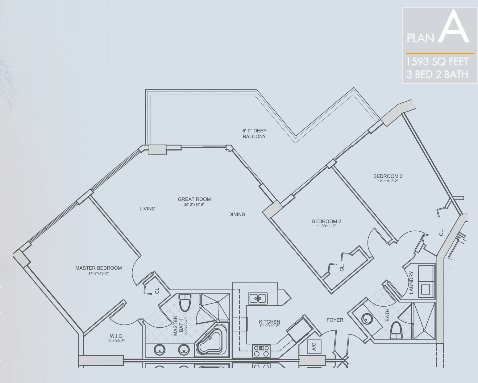 St. Tropez Floor Plan A
