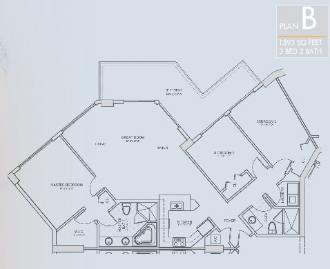 St. Tropez Floor Plan B