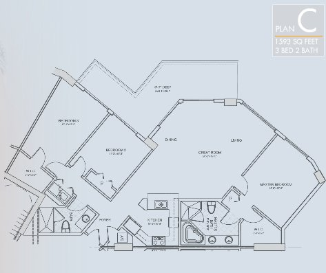 St. Tropez Floor Plan C